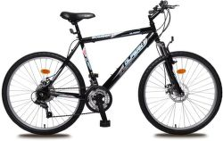 "OLPRAN Bomber Sus 26"", Bicykel, čierna-modrá"