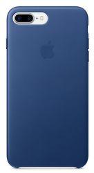Apple kožený kryt pre iPhone 7 Plus, zafírový