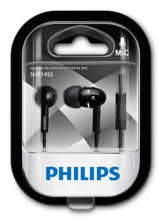 Philips SHE1455BK/10 čierne