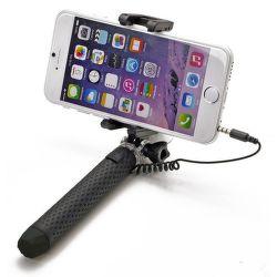 Celly Mini selfie tyč, čierna