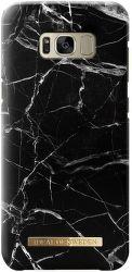 Ideal of Sweden čierne mramorové puzdro na Samsung Galaxy S8+