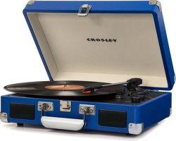 Crosley Cruiser Deluxe modrý