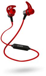 SBS Bluetooth slúchadla s magnetickým pripínaním, červené