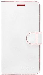 FIXED FIT knižkové puzdro iPhone 6/6s, biele