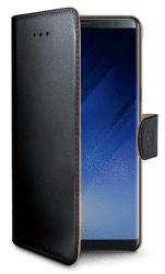 CELLY WALLY674 puzdro kniha pre Samsung Galaxy Note 8, čierna
