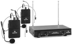 Auna VHF-2-HS bezdrôtový mikrofónový set