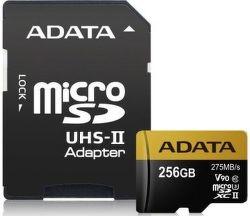 ADATA Premier One microSDXC 256GB UHS-II U3 + adaptér