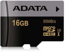 ADATA Premier Pro microSDHC 16GB 95MB/s UHS-I U3
