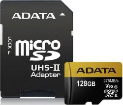 ADATA Premier One microSDXC 128GB UHS-II U3 + adaptér