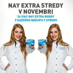 NAY Extra stredy v novembri