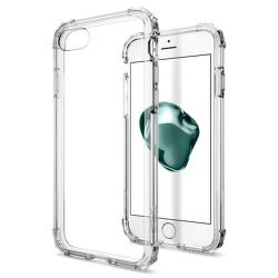 SPIGEN iPhone 7/8 Case Crystal Shell, transparentné