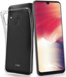 SBS Skinny silikónové puzdro pre Samsung Galaxy A40, transparentná