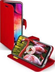 SBS Sense knižkové puzdro pre Samsung Galaxy A50, červená