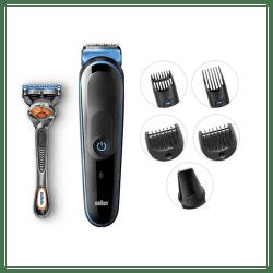 Braun MGK5045 (Blue)+darček v balení  Gillette Fusion 5 ProGlide