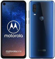 Motorola One Vision modrý