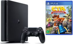 Sony PlayStation 4 Slim 1TB + Crash Team Racing + 2x ovládač