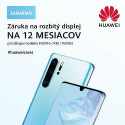 Bezplatná výmena displeja smartfónov Huawei