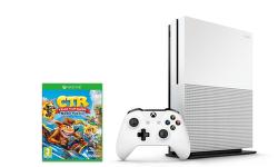 Microsoft Xbox One S 1TB + Crash Team Racing Nitro-Fueled + stojan