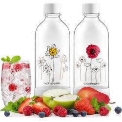 SodaStream Jet Kvetiny v zime náhradné fľaše (1l/2ks)