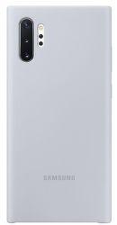 Samsung silikónové puzdro pre Samsung Galaxy Note10+, strieborná