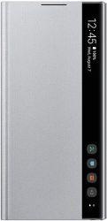 Samsung Clear View puzdro pre Samsung Galaxy Note10, strieborná