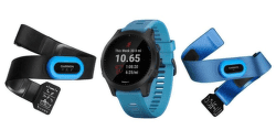 Garmin Forerunner 945 Optic Tri Bundle modré