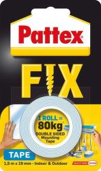 Pattex Fix 1,5 m x 19 mm obojstranná lepiaca páska
