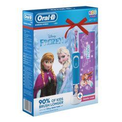 Oral-B Vitality D100 Frozen + cestovné puzdro