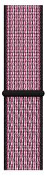 Apple Watch 44 mm Nike športový prevliekací remienok, krikľavo ružový/sýto fialový