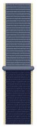 Apple Watch 44 mm športový prevliekací remienok, seversky modrý