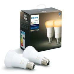 Philips Hue White Ambiance 8.5W E27 set 2 ks
