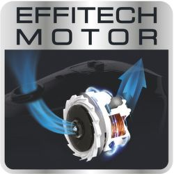 Rowenta RO7386EA Silence Force – Vysoký výkon motora EffiTech