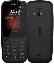 Nokia 220 Dual SIM 4G čierny