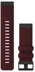 Garmin QuickFit 26mm nylonový remienok pre Fénix 6X, červená