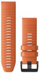 Garmin QuickFit 26mm silikónový remienok pre Fénix 6X, oranžová