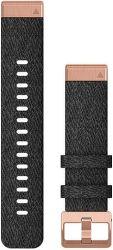 Garmin QuickFit 20 mm nylonový remienok pre Fénix 6S, čierna