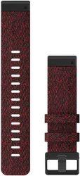 Garmin QuickFit 22 mm nylonový remienok pre Fénix 6, červená