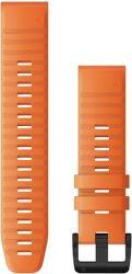 Garmin Quickfit 22 mm silikónový remienok pre Fénix 6, oranžová