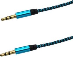 Mobilnet AUX 1m modro-čierny