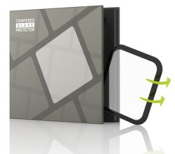 TGP 3D tvrdené sklo pre  Apple Watch Series 5 40mm, čierna
