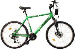 Olpran Bomber SUS 26 GRN pánsky bicykel