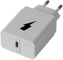 Winner PD USB Type C 20 W sieťová nabíjačka, biela