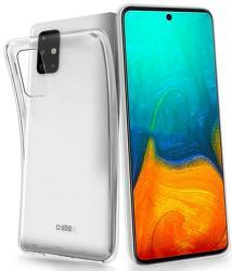 SBS silikónové puzdro pre Samsung Galaxy A71, transparentná