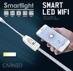 Carneo Smartlight WW LED pás biely