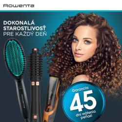 45 dní záruka vrátenia peňazí na produkty Rowenta