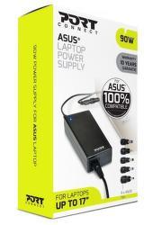 Port Designs 90W napájací adaptér pre notebooky Asus