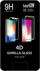 Winner 4D Full Glue ochranné tvrdené sklo pre Apple iPhone 7/8, biela