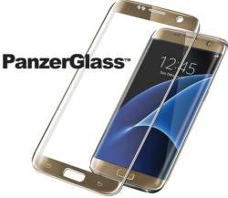 PanzerGlass Premium tvrdené sklo pre Samsung Galaxy S7 Edge, zlaté
