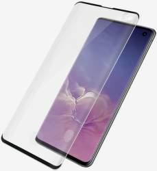 PanzerGlass Case Friendly tvrdené sklo pre Samsung Galaxy S10, čierna
