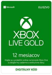 Xbox Live Gold EU 12-mesačné členstvo - Digitálny produkt